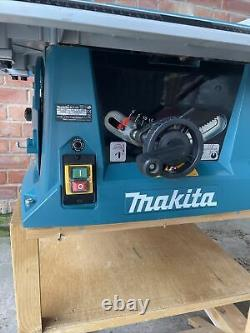 Makita MLT100 240v Table Saw Complete Excellent Condition
