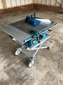 Makita MLT100 table saw 240v complete with stand