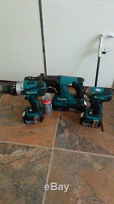 Makita18v Tools Set Bag 8 Pieces With Battery