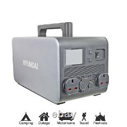 Max 2000w Generator Portable Power Bank Station for emergency power Solar use