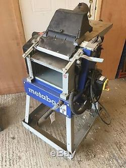 Metabo Planer and thicknesser