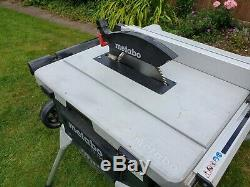 Metabo TS254 230v Compact Table Saw with Integrated Stand Kit