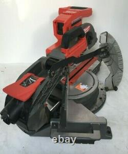 Milwaukee 2734-20 M18 FUEL 10in Dual Bevel Sliding Miter Saw, GR