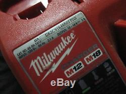 Milwaukee 2758-20 M18 FUEL 3/8 Impact Wrench With 2 Batteries, charger & Tools