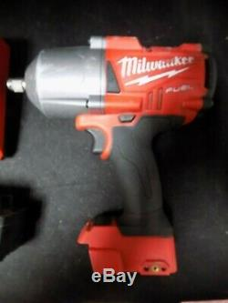 Milwaukee 2767-20 M18 FUEL High Torque 1/2 Impact withFriction Ring BATT CHARGER