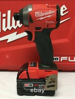 Milwaukee 2997-22 FUEL M18 18-Volt 2-Tool Hammer Drill/Impact Driver Kit, LN