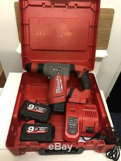 Milwaukee FUEL M18 CHPX 18v Lithium-ion SDS Hammer Drill, 2x 9.0AH, Brushless