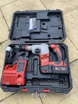 Milwaukee HD18HX-402C 18V Heavy Duty SDS Hammer Drill with carry case M18