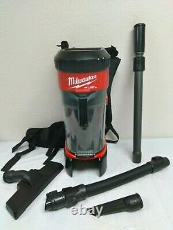 Milwaukee M18 0885-20 18-Volt FUEL 3-in-1 Cordless Backpack Vacuum, GR