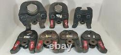 Milwaukee M18 FORCE LOGIC Press Tool Kit with 1/2-2 Jaws 2773-22 + RING JAW