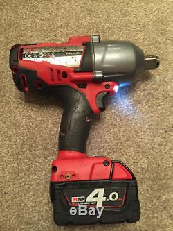 Milwaukee M18CHIWF34 18V Fuel 3/4 High Torque Impact Wrench 2x 4.0ah batteries
