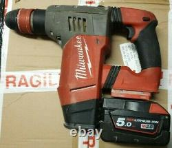 Milwaukee M28CHPX 28v Fuel SDS Plus High Performance Hammer 1x 5.0ah, No Charger