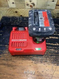 Milwaukee m12 FUEL brushless circular saw. 6ah battery. Rapid charger