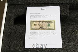 Not-A-Flamethrower The Boring Company not a flamethrower & Letter with $5 bill