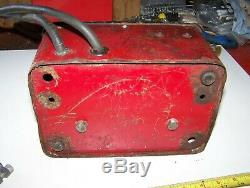 Old ALLEN MAGNET CHARGER Hit Miss Gas Engine Tractor Car Truck Magneto Oiler WOW