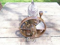 Old VERTICAL MAYTAG Air Cooled Hit Miss Gas Engine Wash Machine Steam Tractor