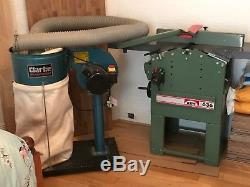 Planer Thicknesser 10 x 8 with dust extractor