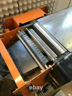 Planer Thicknesser Rema. Robust and accurate. 2.2kw. Planing width 250mm