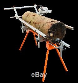 Portable Chainsaw Wood Planking Mill Many uses Coins Lumber Milling Full video