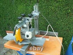 Portable bench top Radial cross cut saw model M 40 D in good used condition