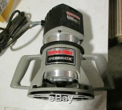 Porter Cable 75192 Speedmatic Router With 75361 Router Base