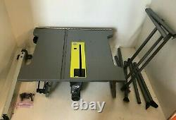 RYOBI RTS12 15 Amp 10 in. Table Saw with Folding Stand, V. GM