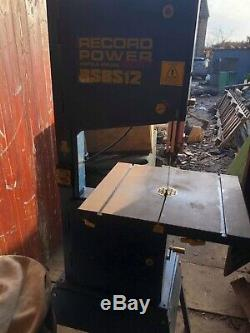 Record Power 240-Volt Benchtop Bandsaw