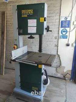 Record Power BS400 16 Bandsaw 230v