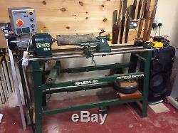 Record Power CL1 Woodturning Lathe Stand and bowl turning attachment
