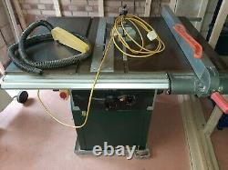 Record Power TSPP250 Table Saw Excellent Used Condition
