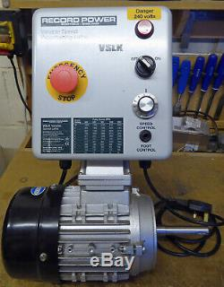 Record Power Vslk Variable Speed Kit For Woodturning Lathes Cl2, Cl3, Cl4