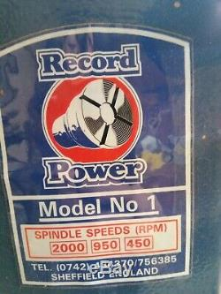 Record Power Wood Turning Lathe / Lathes / Woodwork / D. I. Y / Hobbies