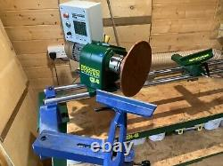 Record Power Woodturning Swivel Head Lathe, Variable Speed