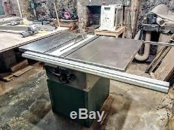 Record Power table saw TSPP250 Single Phase 13A