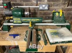 Record Power wood turning lathe DML36SH with tools