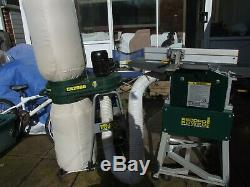 Record Pt260 Planer Thicknesser And Record Cx2000 Dust/chip Extractor