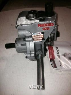 Ridgid 975 Roll Groover 916 300 300 Compact 535 1822 Pipe Threader 1-1/4-6 Pipe