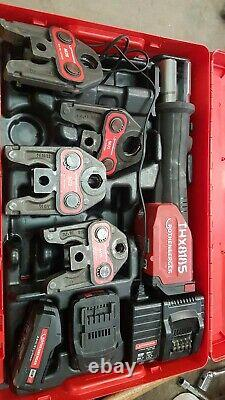 Rothenberger Romax 4000 Pressfitting Tool c/w 15 35mm USED