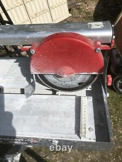 Ruby Tile Cutter Electric Wet Good Quality Used On Project