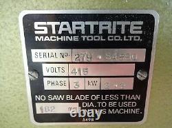 STARTRITE 275, 12 saw bench, cuts 4 1/8 at 90