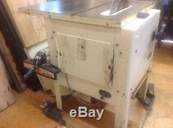 Saw bench used