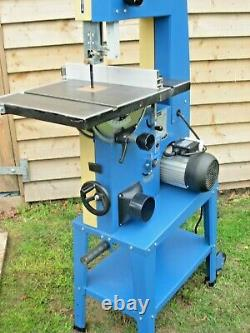 Scheppach Basato 3 Floor Standing Bandsaw with cast iron table single phase
