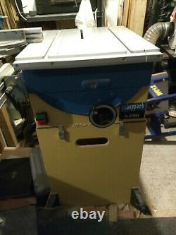Scheppach ts2000 tilting table saw complete with sliding table