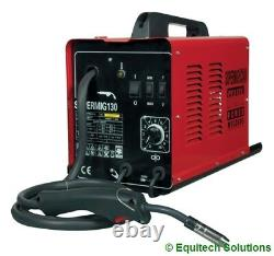 Sealey Supermig130 Mig Welder Welding 130A 130 Amp Uses Disposable Gas New