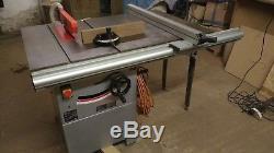 Sip 10 table saw and charnwood dust extraction