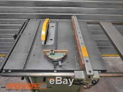 Startrite 12 Table Saw, Sliding Table, Extension Table, 440V