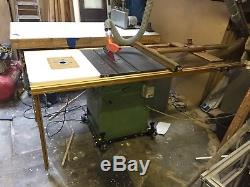 Startrite 275 Table Saw With Incra Precision Fence System With Router Table