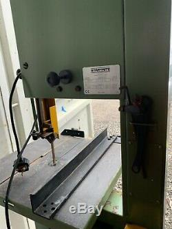 Startrite 301 S Band Saw 240v Great Condition With Fence And Angle
