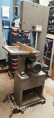 Startrite 301E bandsaw 240v single phase