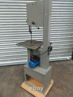 Startrite 351 se bandsaw, single phase, very little use, on base with castors